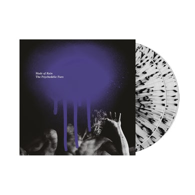 Psychedelic Furs Made Of Rain Splatter Double Vinyl Double LP