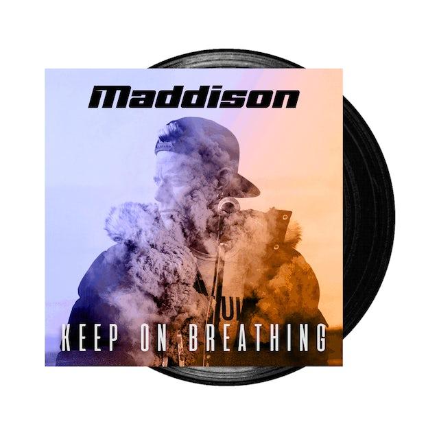Maddison Keep On Breathing Signed LP (Vinyl)
