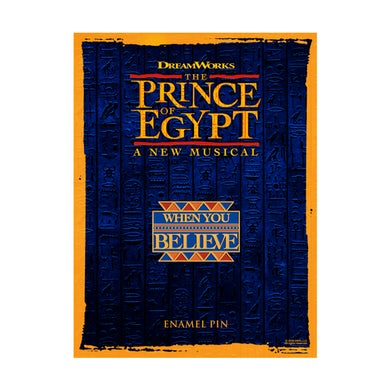 The Prince of egypt Pin Badge
