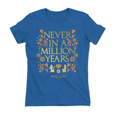 The Prince of egypt Never In A Million Years T-Shirt