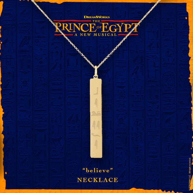 The Prince of egypt Believe Necklace
