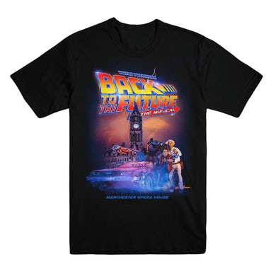 Back To The Future: The Musical Unisex Logo T-Shirt