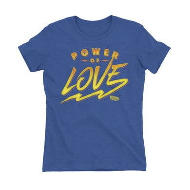 Back To The Future: The Musical Women's Power of Love T-Shirt