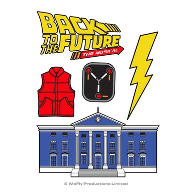 Back To The Future: The Musical Tattoo Set