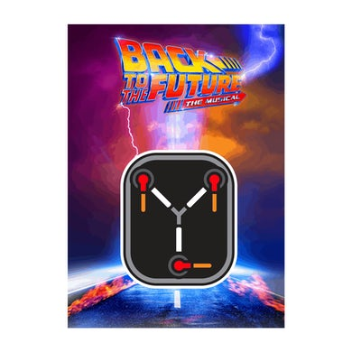 Back To The Future: The Musical Flux Capacitor Decal