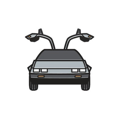 Back To The Future: The Musical DeLorean Enamel Pin