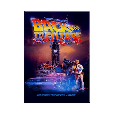 Back To The Future: The Musical Logo Magnet