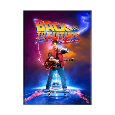 Back To The Future: The Musical Lenticular Logo Magnet