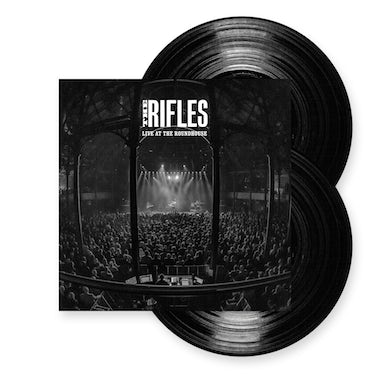 The Rifles Live At The Roundhouse Double Heavyweight LP (Vinyl)