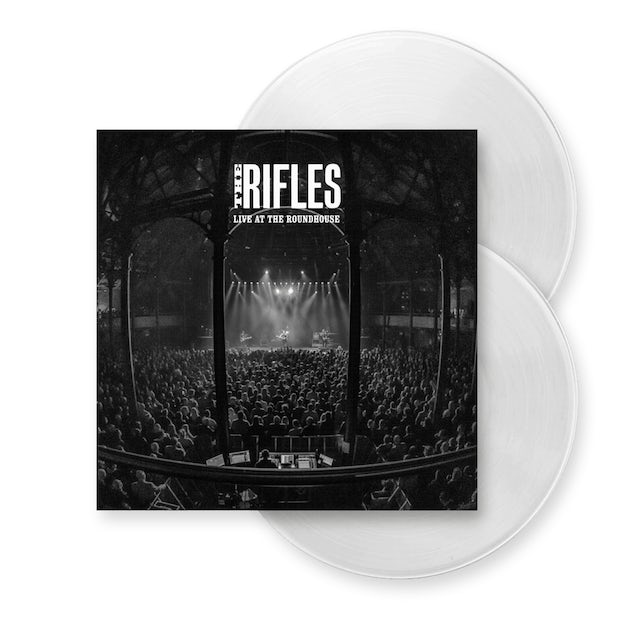The Rifles Live At The Roundhouse Double White Vinyl Double Heavyweight Vinyl