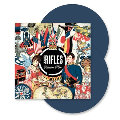 The Rifles Freedom Run Dusk Blue Double LP (Vinyl)