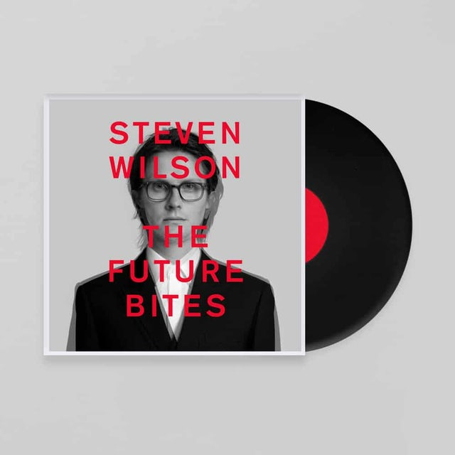 Steven Wilson The Future Bites Gatefold Black Vinyl LP