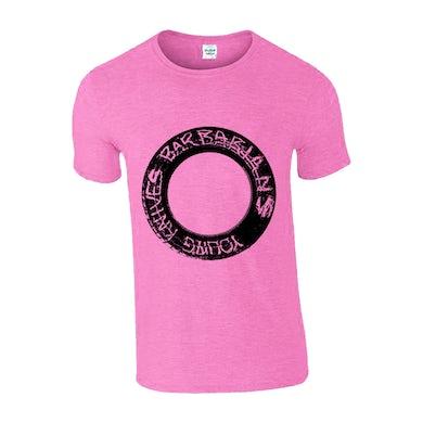 Young Knives Barbarians Pink T-Shirt