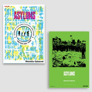 Asylums Double Sided A3 Poster