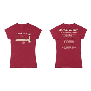 Jamie Cullum Womens Taller Tour Tee