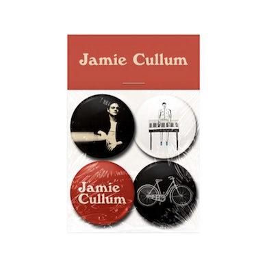 Jamie Cullum Badge Set