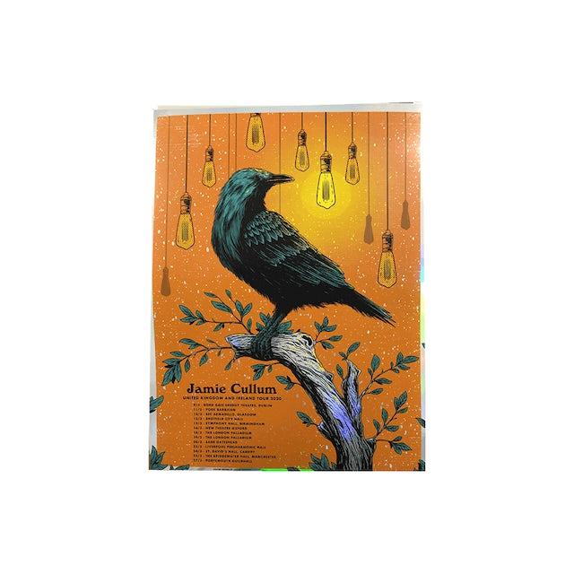 Jamie Cullum Taller Tour Foil Screen Print (Signed)
