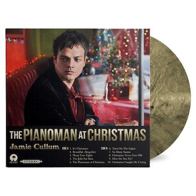 Jamie Cullum Pianoman At Christmas Black & Gold Vinyl