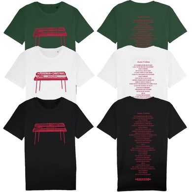 Pianoman At Christmas T-Shirt