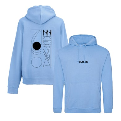 Lie Out Loud Blue Hoodie