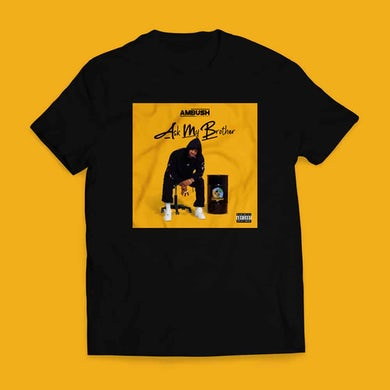Ambush Buzzworl Ask My Brother Black T-Shirt 1