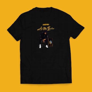Ambush Buzzworl Ask My Brother Black T-Shirt 2