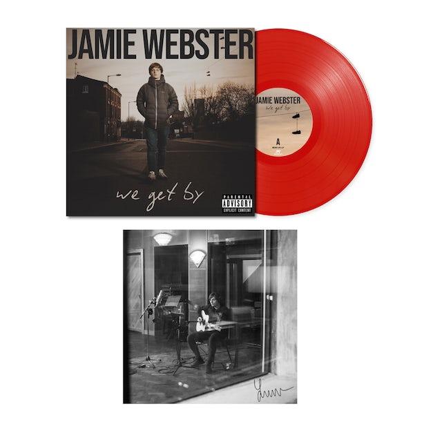 Jamie Webster We Get By Red LP (Vinyl)