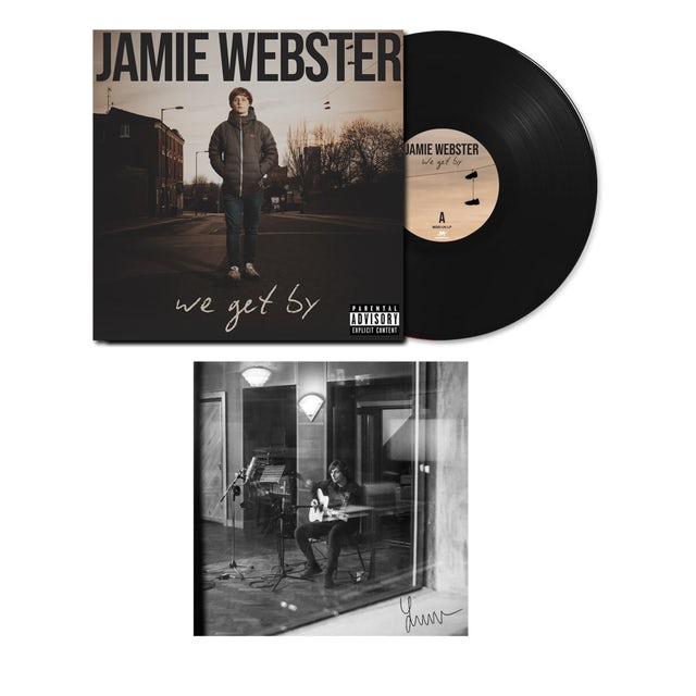 Jamie Webster We Get By  LP (Vinyl)