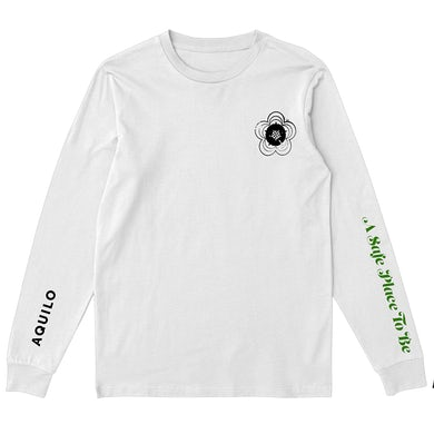 Aquilo A Safe Place To Be Longsleeve (White)
