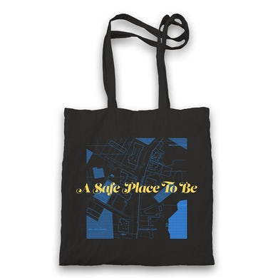 Aquilo A Safe Place To Be Tote Bag (Black)
