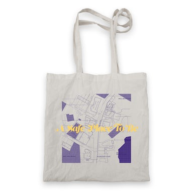 Aquilo A Safe Place To Be Tote Bag (White)