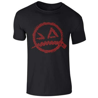 From Ashes to New Panic Logo Tee Red