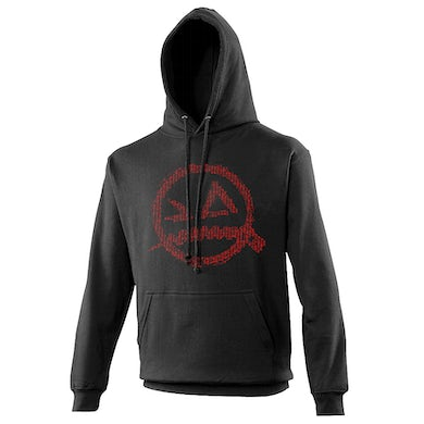 From Ashes to New Panic Logo Hoodie Red