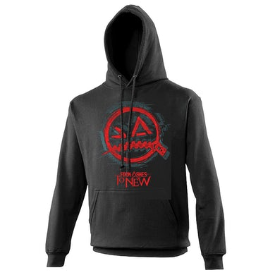 From Ashes to New Panic Logo Hoodie Turquoise