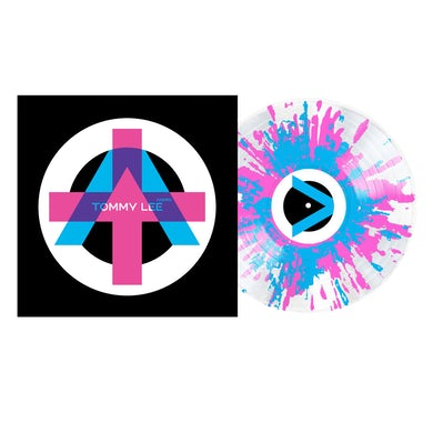 Tommy Lee Andro Pink & Blue Splatter Vinyl