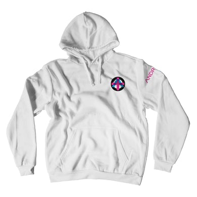 Tommy Lee Andro White Hoodie