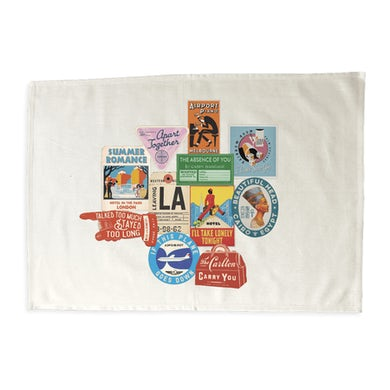 Apart Together Tea Towel