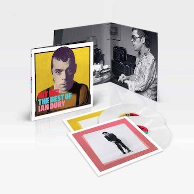 Ian Dury Hit Me! The Best Of White Double LP (Vinyl)