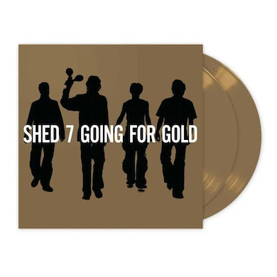 Shed Seven The Greatest Hits Gold Double Heavyweight LP (Vinyl)