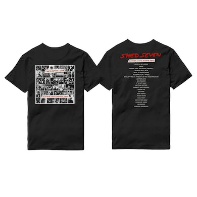 Shed Seven Another Night, Another Town Cover T-Shirt