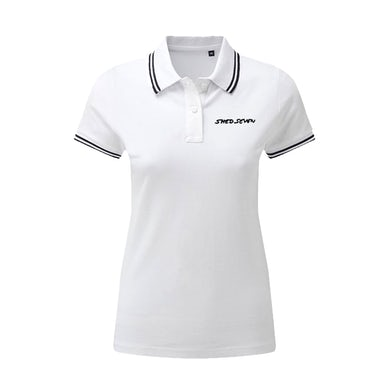 Ladies Shed Seven White Polo Shirt