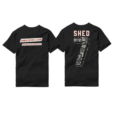 Shed Seven Live Logo T-Shirt