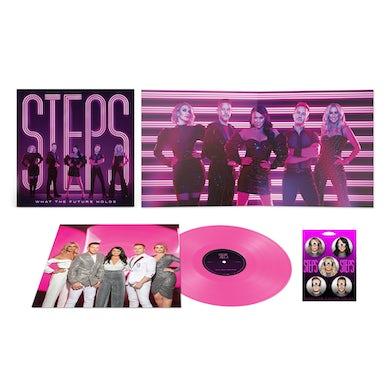 Steps What The Future Holds Transparent Pink Vinyl (Ltd Edition, Exclusive) LP