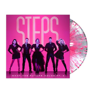 Steps What The Future Holds Pt. 2 Ultra Clear/Pink Splatter LP (Vinyl)