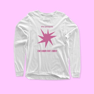 The Jacques Long Sleeve Logo T-Shirt