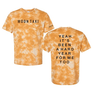 Tie Dye T-Shirt (Yellow)