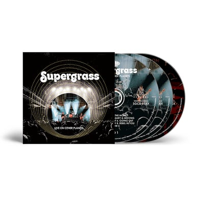 Supergrass Live On Other Planets CD