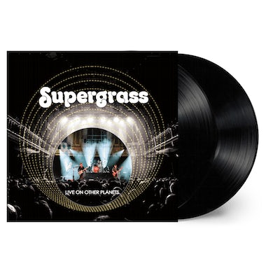 Supergrass Live On Other Planets Double Vinyl