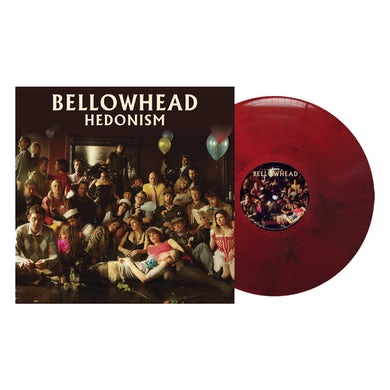 Hedonism 10th Anniversary Ltd Edition Red/Black Marble LP (Vinyl)