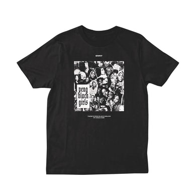 Enny Peng Black Girls T-Shirt (Black)